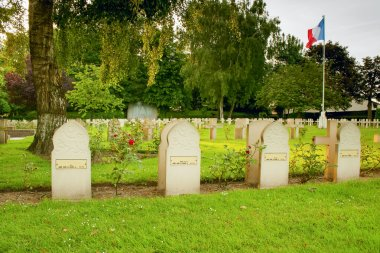 Tombstone Muslim soldiers killed in World War I