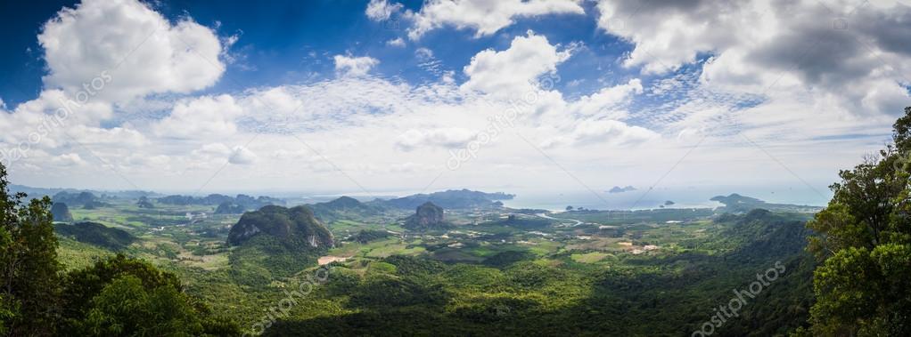 Province Krabi panarama. Thailand.