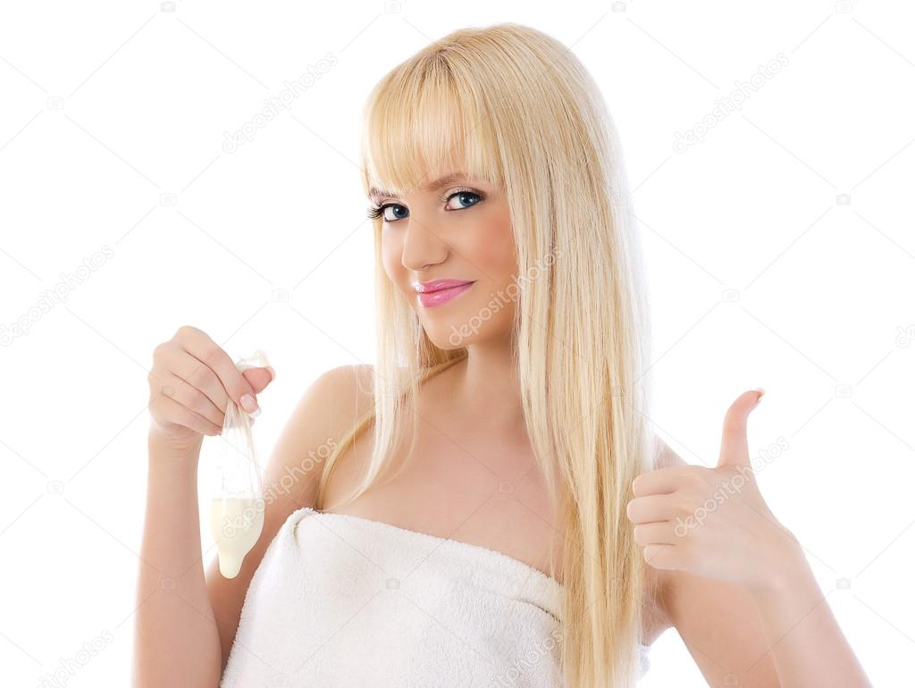 Condom thumbs Female