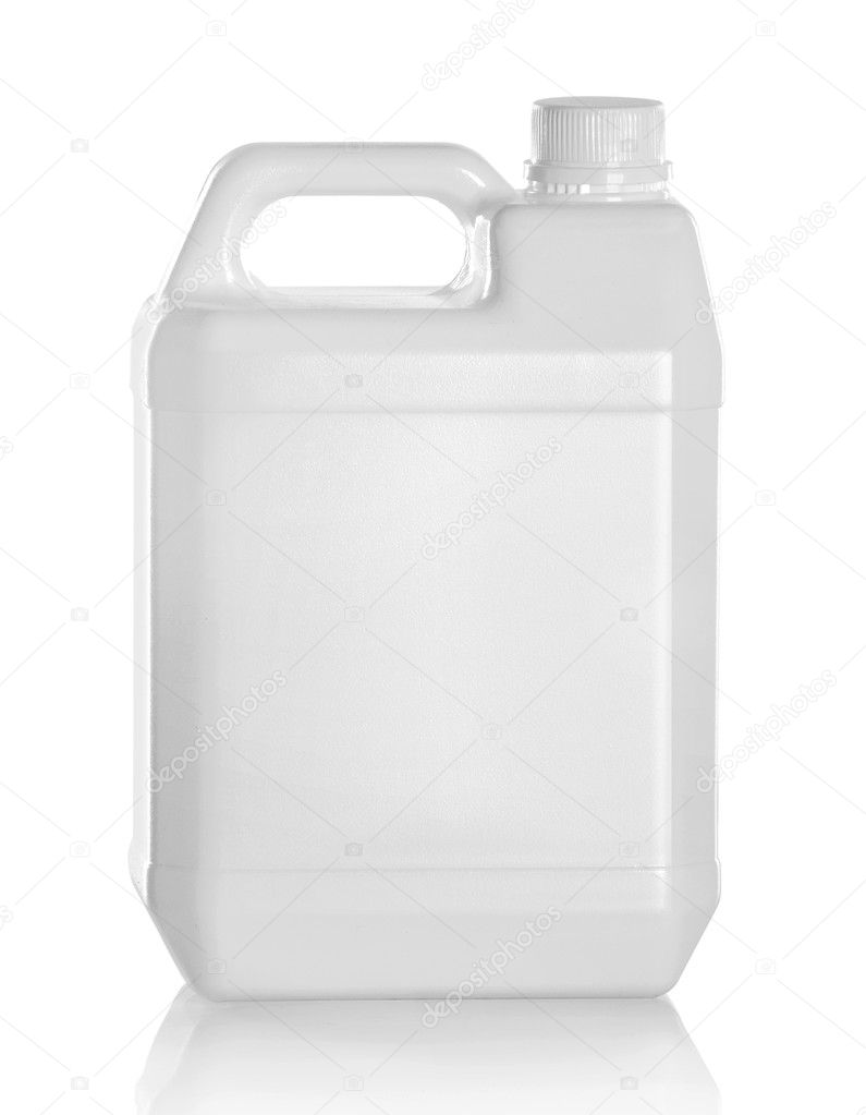 Plastic jerry can ⬇ Stock Photo, Image by © odua #24485279