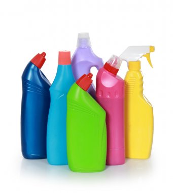 cleaning product plastic container