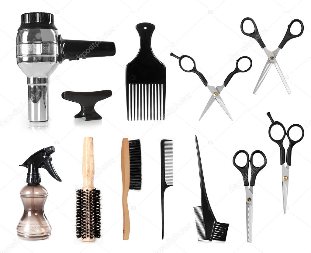 Hair Styling Tools Stock Photo Odua 48860425
