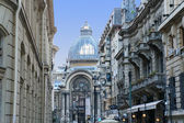 The CEC Palace in Bucharest, Romania