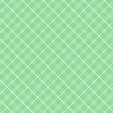 Seamless cross green shading diagonal pattern