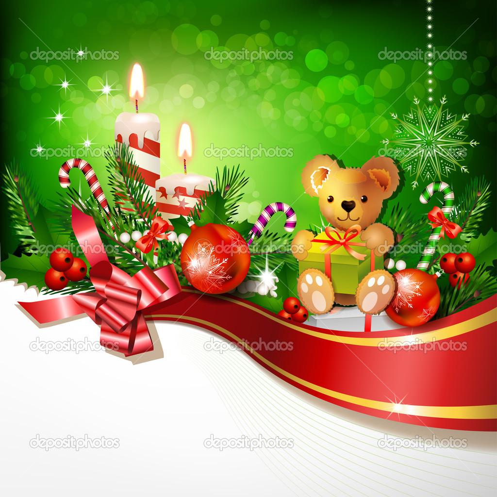 Красивые Детские Новогодние Обои