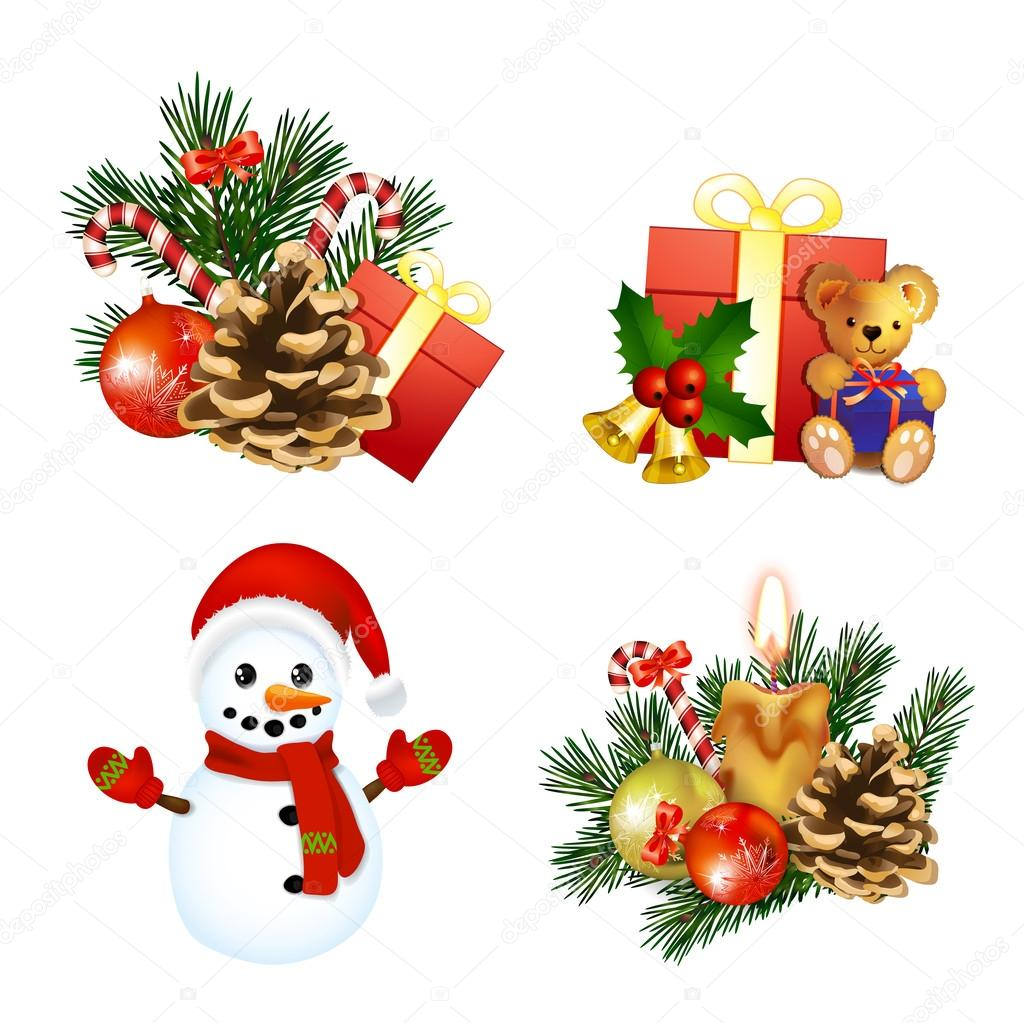 weihnachts icons stockvektor analia26 36366203. Black Bedroom Furniture Sets. Home Design Ideas