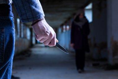Criminal with Knife