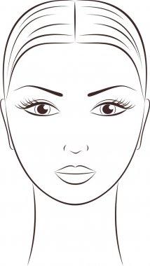 Women's face