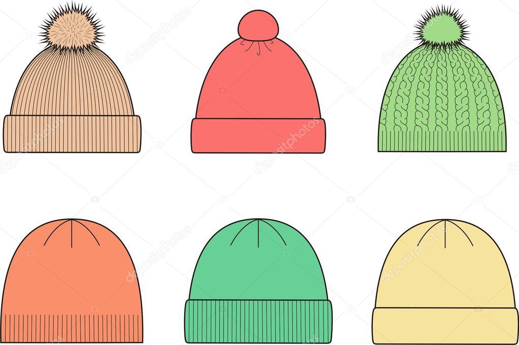 шапки в картинках поэтапно данном