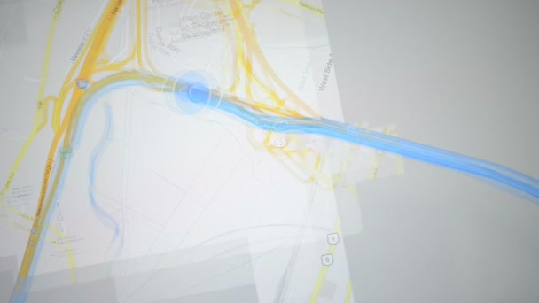 GPS animation