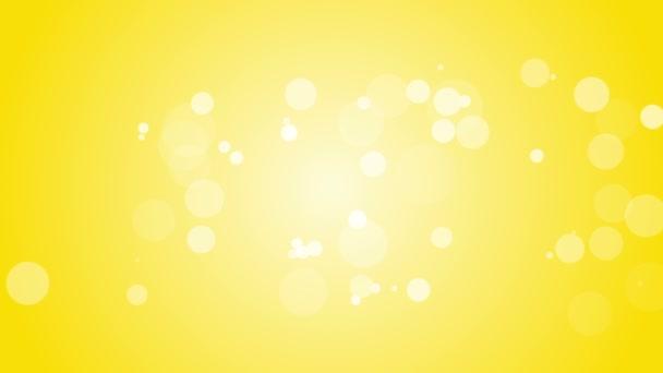 White flares on gold background.
