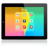 Google applications on Apple iPad Air