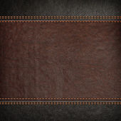 Fotografie stitched leather background