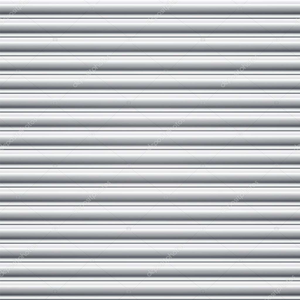 Steel Door Shutter Seamless Background Stock Vector