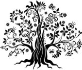 Fotografie Phantasie Baum-Vektorgrafiken