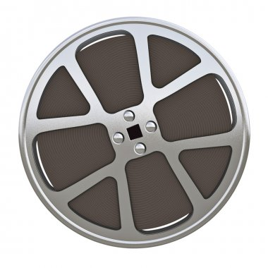 Motion picture film reel