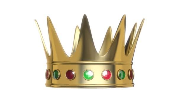 královská koruna rotace