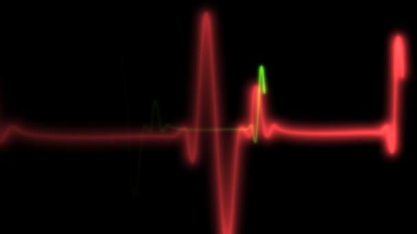 Nahtlos schleifender Herzmonitor