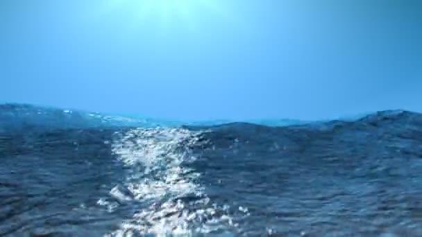 bouřlivé moře