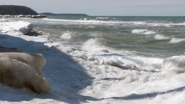 Winterküste der Ostsee