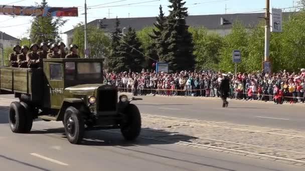 vojenská přehlídka v Kaliningradu