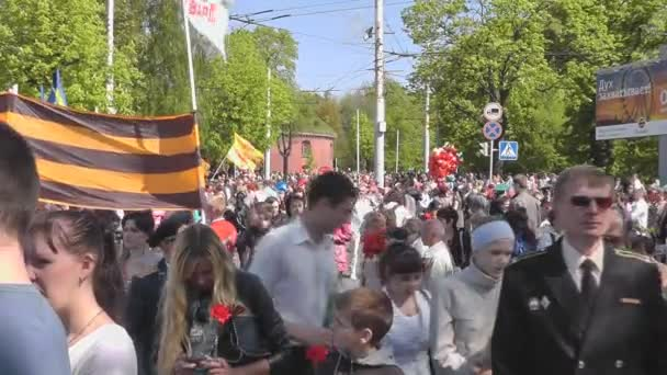 Siegestag in Kaliningrad. Russland