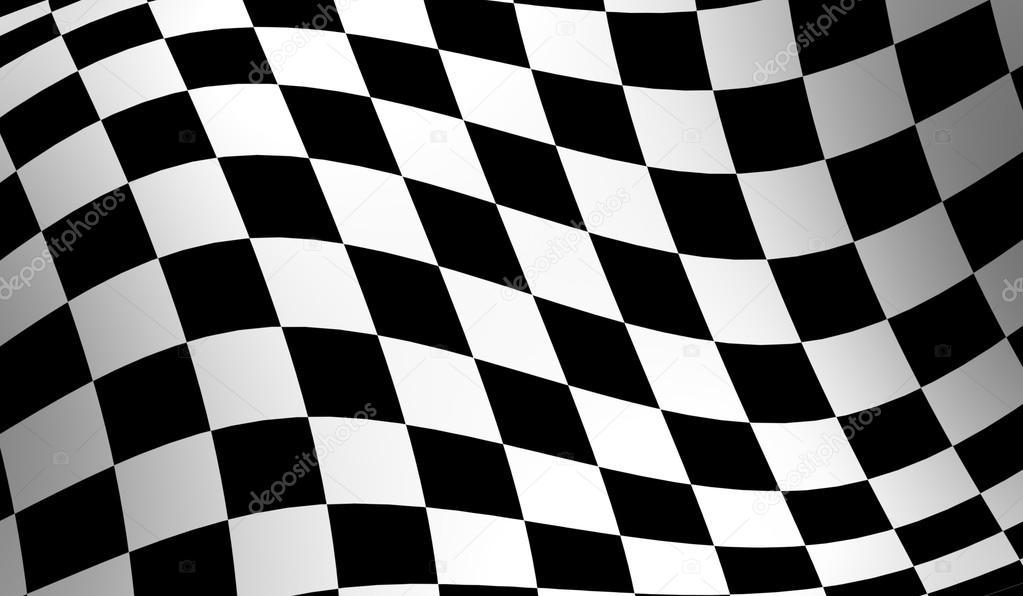 Racing Checkered Flag >> drapeau damier racing — Photographie gl0ck © #47080051