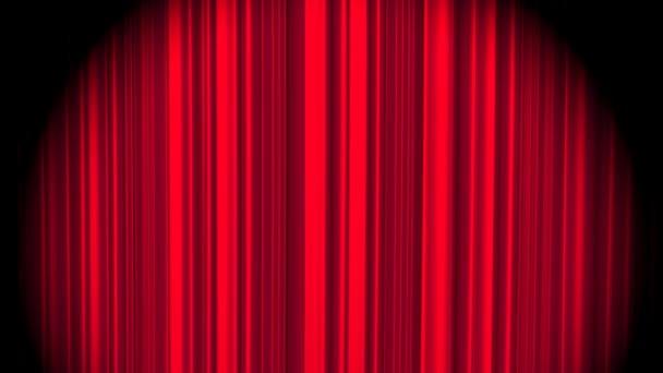 Vörös függöny integet