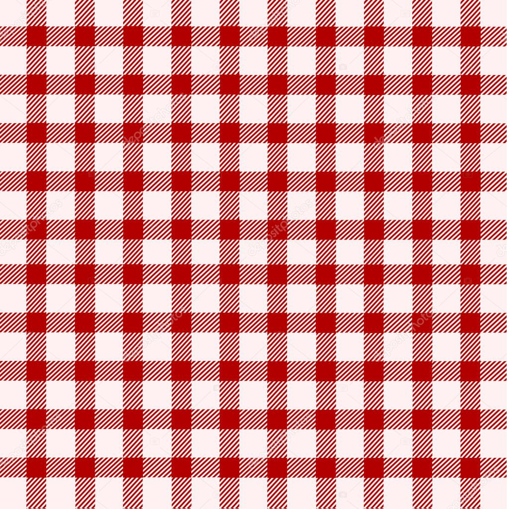 Red And White Tablecloth U2014 Stock Vector #14147529