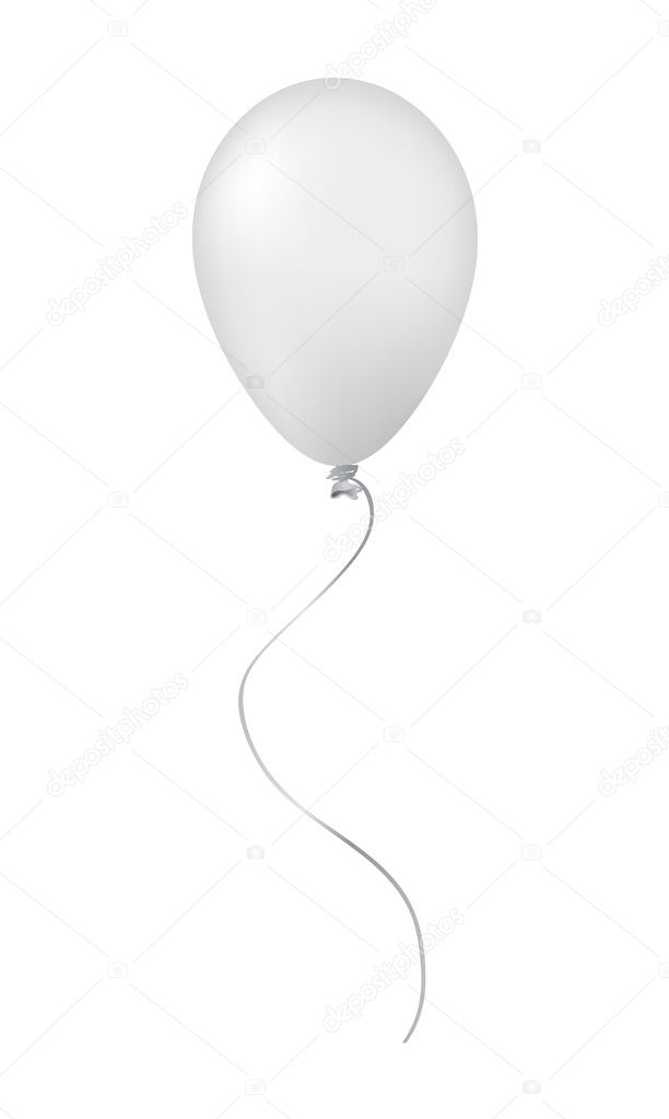 White balloon