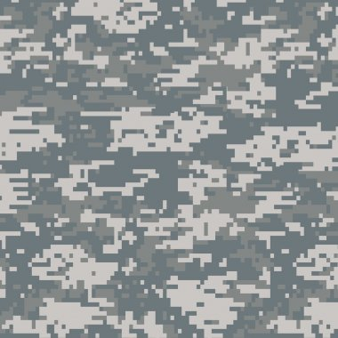 Digital camouflage seamless pattern background stock vector