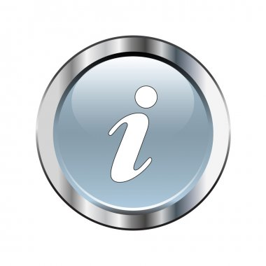 Gray information icon