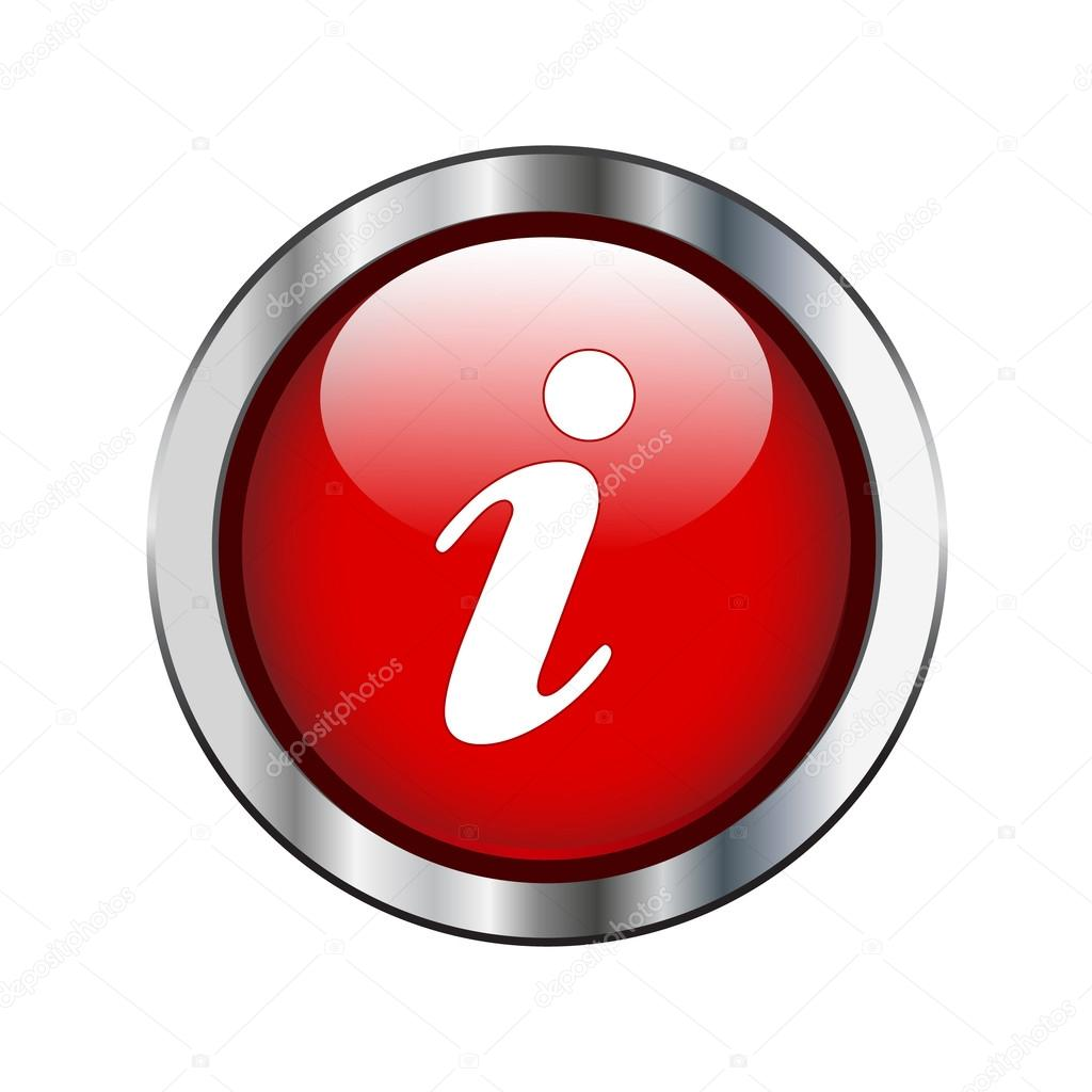 Red information icon
