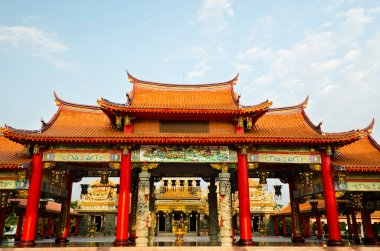 colorful chinese temple
