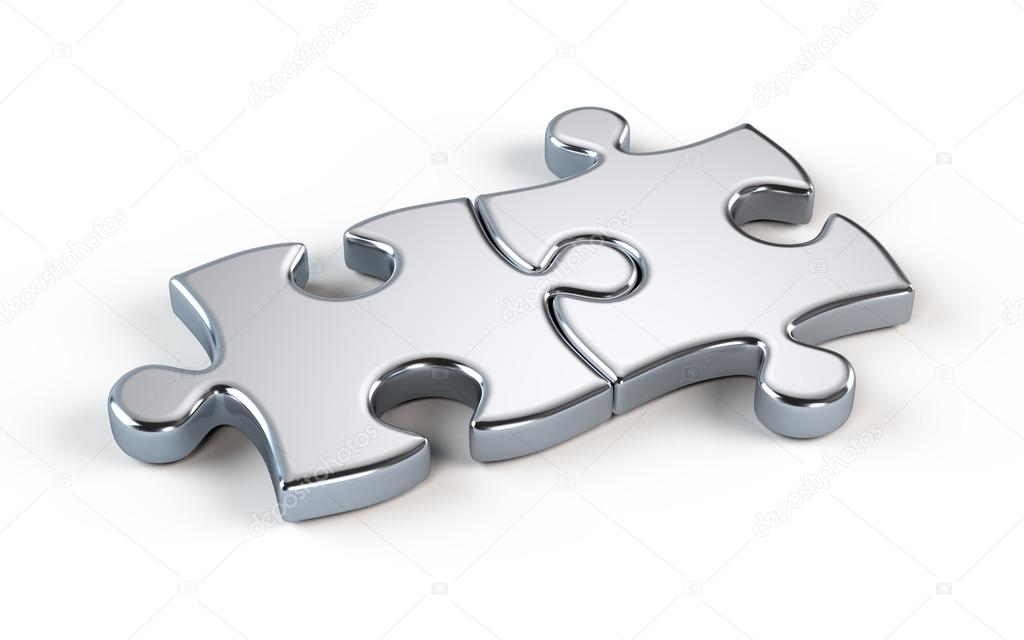 Two metal puzzle