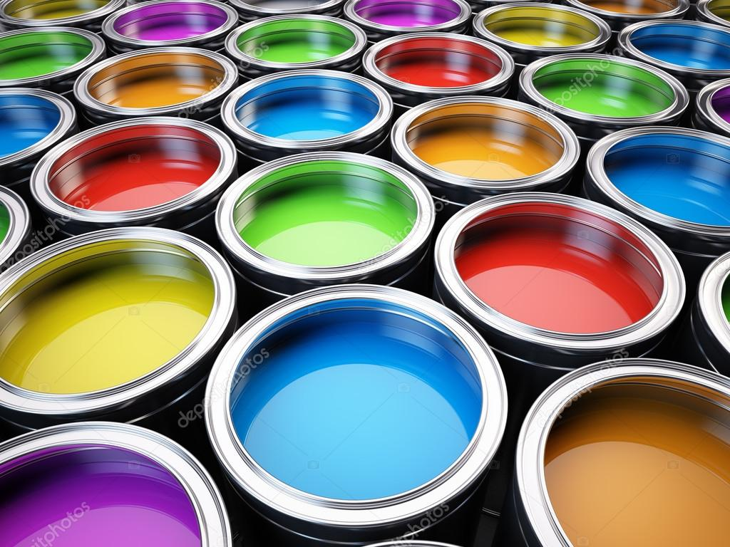 paint cans color palette stock photo sashkin7 43772915