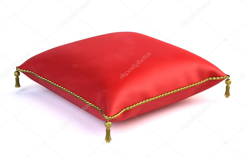 Coussin de velours rouge royal photo 43773137 - Coussin velours rouge ...