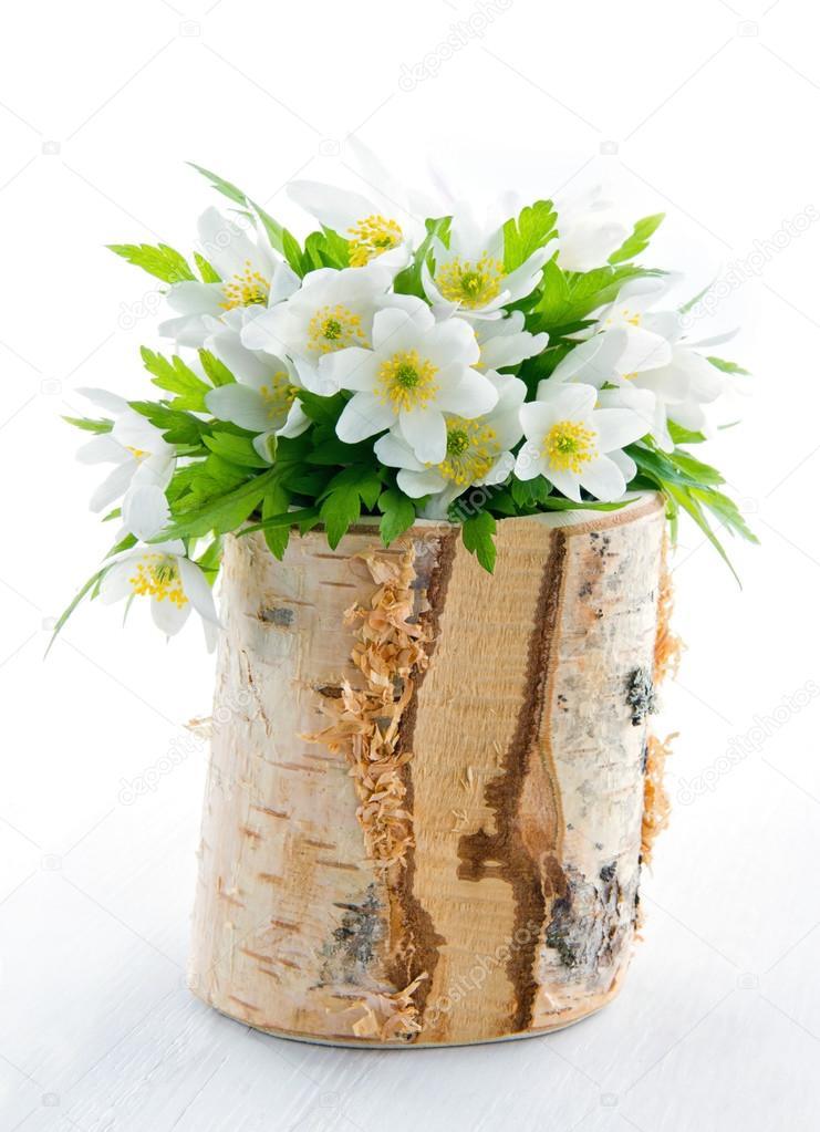 Bouquet de fleurs printani res blanches photographie for Bouquet de fleurs 94
