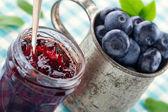 Photo Jam in a glass jar