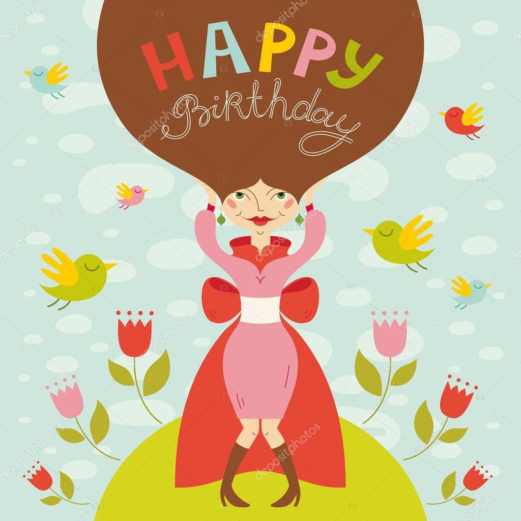 Verjaardag Dame Archidev