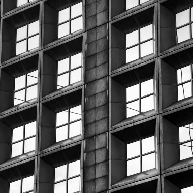 Modern offices building - detail