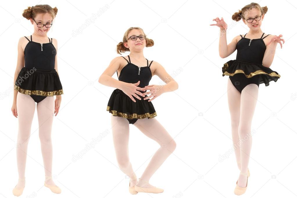 Неграми большими балерины в смешных позах пышка