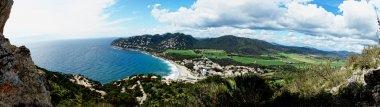 Canyamel bay panoramic. Balearic Islands. Mallorca. Spain