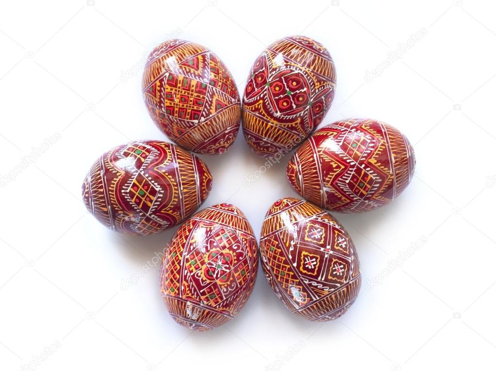 Pysanky ucraino uova di pasqua dipinte a mano foto - Uova di pasqua decorati a mano ...