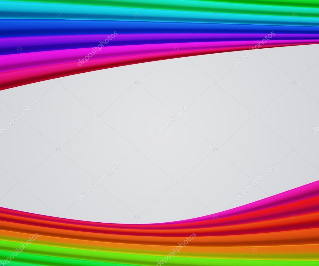 Fondo de formas de marco de arco iris — Fotos de Stock ...
