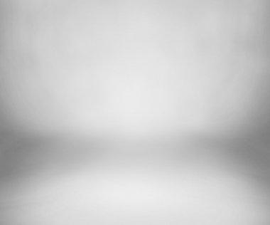 White Studio Backdrop with Floor stock vector