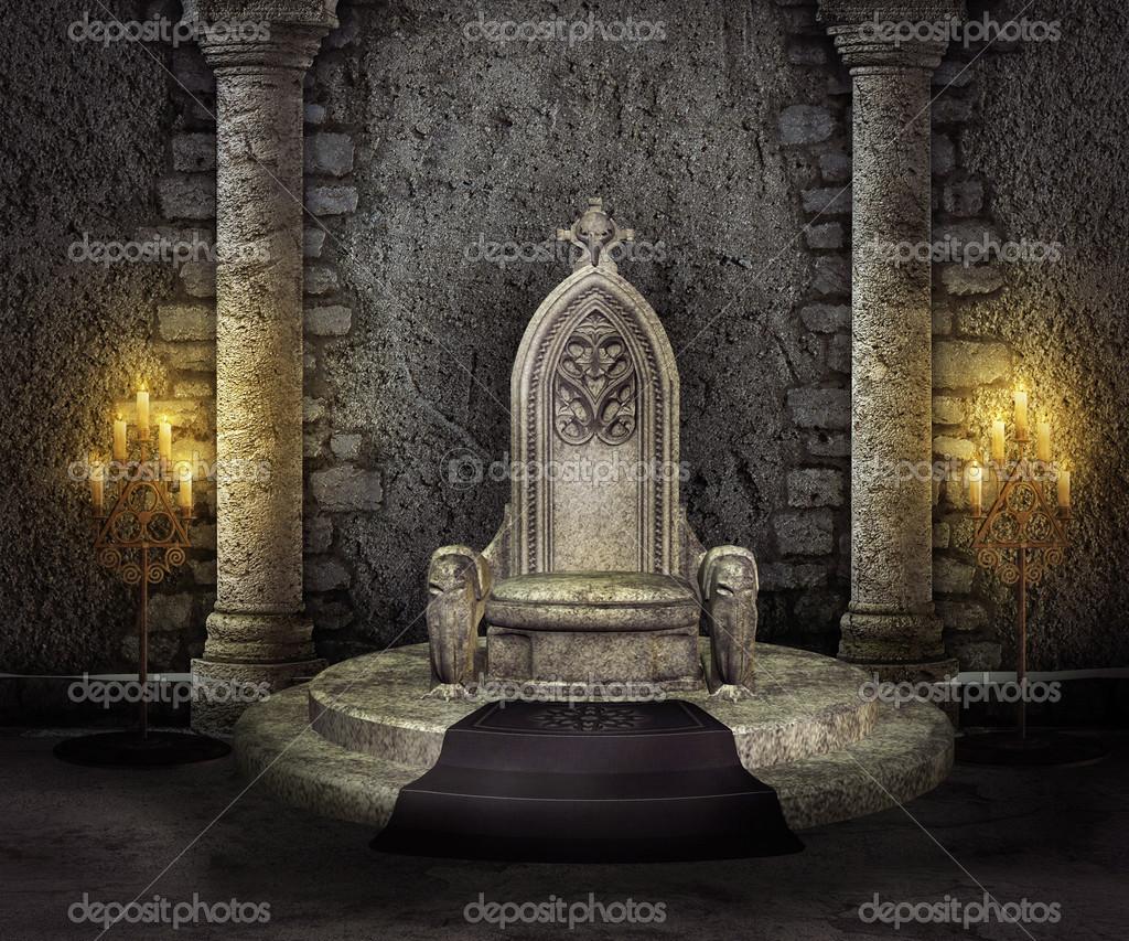 Stone Throne Stock Photo 169 Backgroundstor 42405339