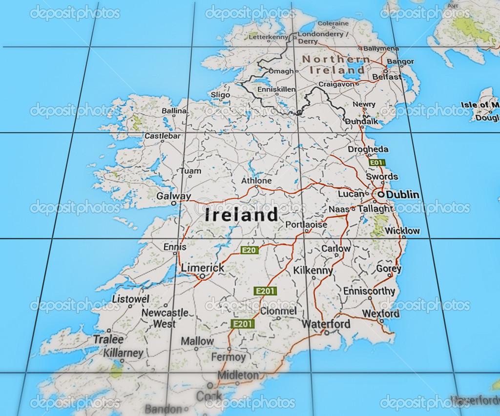 Irlanda en mapa foto de stock backgroundstor 47062009 irlanda en mapa foto de stock gumiabroncs Gallery