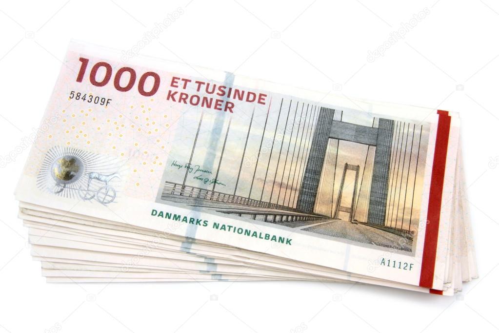 Danimarka Kronu — Stok Foto © hayatikayhan #36431493