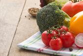 čerstvé zeleniny a potravin